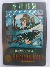 Carte Dragon Ball Z DBZ Visual Adventure Part 1 #3 Prisme 1991 MADE IN JAPAN