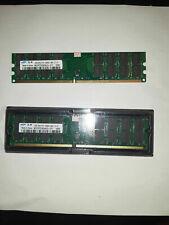 8GB 2X4GB DDR2 800MHZ PC fisso DESKTOP (schede X CPU AMD) PC2-6400 Samsung HIGH
