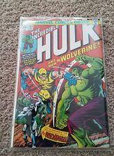 Incredible Hulk #181 comic book 1st Wolverine 1974 rare Key issue Logan Hot!