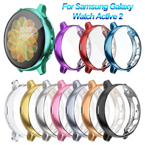 TPU Protective Screen Protector Cover Case For Samsung Galaxy Watch Active 2 1