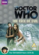 Doctor Who: The Face Of Evil  BBC DVD Tom Baker is Dr Who  dispatch 24hrs SEALED