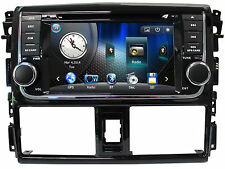 Touch Screen Radio Car DVD Player GPS Navigation For Toyota Yaris Vios 2014 2015