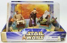 Star Wars AOTC Jedi High Council Mace Windu Oppo Rancisis & Even Piell Figures