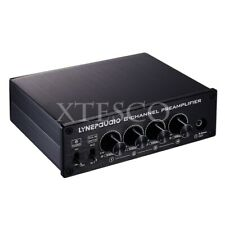 New listing 8-Channel Preamp Audio Distributor Amplifier 2 Input & 8 Output Rca 3.5Mm Ports*
