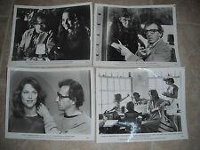 Stardust Memories Woody Allen (4) 8x10 Promo Photo Original Lobby 1980