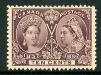 Canada 1897 Jubilee 10¢ Scott # 57 Mint W691