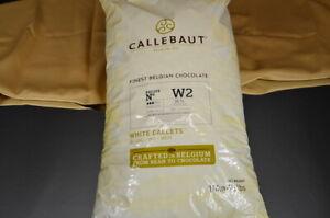 Callebaut Kuvertüre Callets Weiße 10Kg