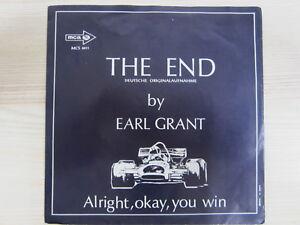 Single / Earl Grant ?– (At) The End (Of A Rainbow) / AUSTRIA PRESS / RAR /