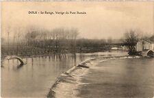CPA DOLE Le Barage Vestige du Pont Romain (446577)