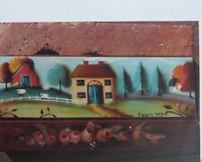 HELEN CAVIN 1988 COUNTRY SIDE CARD BOX PAINTING PATTERN PACK #21