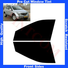 Pre Cut Window Tint SSangYong Actyon 5 Doors 2006-2009 Front Sides Any Shade