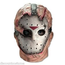 OFFICIAL LICENSED ADULT JASON FRIDAY THE 13TH 3/4 VINYL MASK