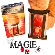 Guillotine à doigt - Finger chopper - Tour de Magie