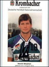Krombacher Autogrammkarte Handball DANIEL STEPHAN handsigniert Unterschrift 1995