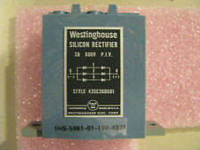 Westinghouse Silicon Rectifier Part # 435C368G01 Nsn: 5961-01-192-4971