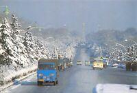 China Postcard, Stalin Street, Changchun, Winter, Snow ED4
