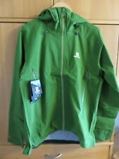 Salomon X Alp 3L Waterproof/Breathable Jacket - Treetop - Size L - NEW with Tags