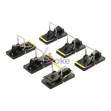 6X RAT TRAP CATCHERS HEAVY DUTY PACK OF 6 SNAP MOUSE TRAP-EASY FOR HOME OFFICE