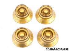 USA Gibson Les Paul Tribute GUITAR CONTROL KNOBS Speed Knobs Gold