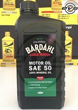 BARDAHL CLASSIC SAE 50 Olio Motore Minerale per Auto Storiche dal 1900 al 1950