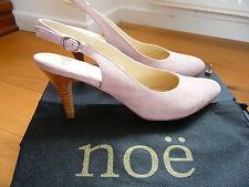 Escarpins NOË rose nude, bride arrière, T38,5 neufs