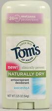 Naturally Dry Antiperspirant, Tom's of Maine, 2.25 oz Natural Powder