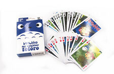 Anime My Neighbor Totoro Playing Card Deck Poker Toy