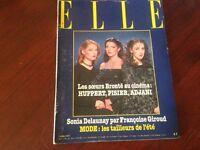Rivista Magazine Elle France 14 Mai 1979 N.1740 Huppert Pisier Adjani