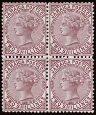 Jamaica Scott 14 Gibbons 14 Block of Stamps