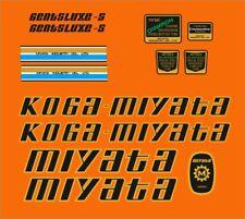 KOGA MIYATA PRORACER-S FRAME DECAL SET 1985