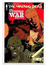 THE WALKING DEAD #162 - The Whisper War Part 6 of 6 - Cover A - Image Comics!