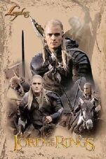 "Lord Of The Rings vintage Legolas Collage Poster 22.25"" X 34.50"" Nos (b410)"