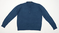 George Mens Size M Blue Jumper