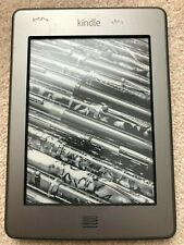 Amazon Kindle Touch (4th Generation) 4GB, Wi-Fi, 6in - Silver/Grey
