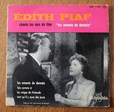 Edith Piaf, les amants de demain,  EP - 45 tours
