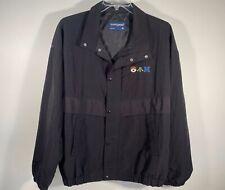 Vintage Swingster Black Ibm Logo Jacket Men Size Xl