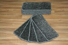 14 Carpet Stair case Treads Galactic Stain Free -  Hard Wearing Stair Pads