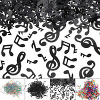 Novelty Music Note Confetti Table Scatter DIY Wedding Throwing Confetti Decor