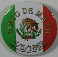 #08030 Pinback Button Cinco De Mayo