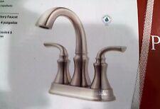Price Pfister Solita Brushed Nickel 2 Handle Bathroom Faucet  #F-048-SOKK