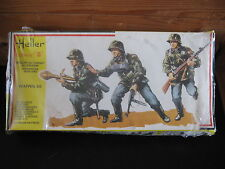 MAQUETTE 1/35 HELLER REF 118 WAFFEN SS ALLEMAND  WWII MILITAIRE