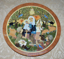 1979 HEDI KELLER Plate DIE ANBETUNG / ADORATION Germany Religious