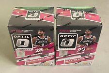 Lot of (2) 2019-20 Panini Donruss Optic Basketball Unopened Sealed 28-Card Box