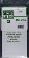 Plain Sheet .015x6x12 (3) Styrene by Evergreen Scale Models EVG9015