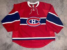 Montreal Canadiens Reebok Edge 2.0 Authentic Hockey Game Jersey, 58G Goalie Cut
