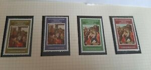 St. Kitts Nevis Anguilla 1969  Christmas Stamps