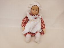 ESF-02311Käthe Kruse Puppe Glückskind, Kunststoffkopf auf Stoffkörper