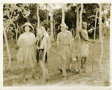 """TRADER HORN"" Photo originale MGM 1931 Duncan RENALDO, Edwina BOOTH, Harry CAREY"