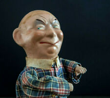 Marionnette papier mache paper larry semon laurel hardy 1920 puppet doll antique