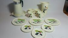 Warner Brothers Plastic Sylvester Plates And Cups